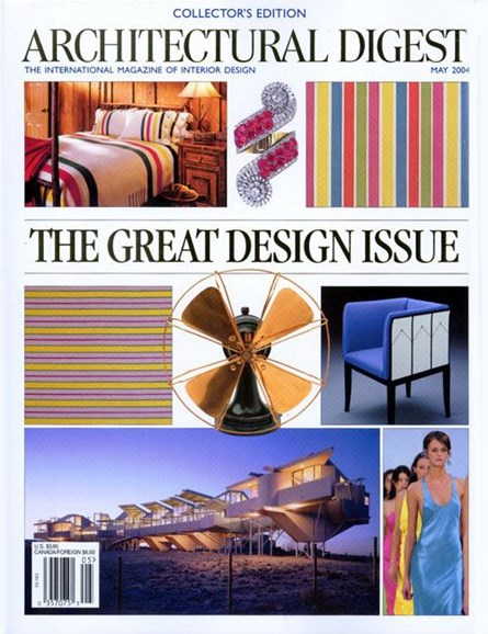 Architectural Digest Cover - 4/12/2004