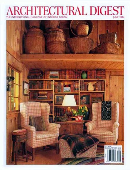Architectural Digest Cover - 5/10/2004
