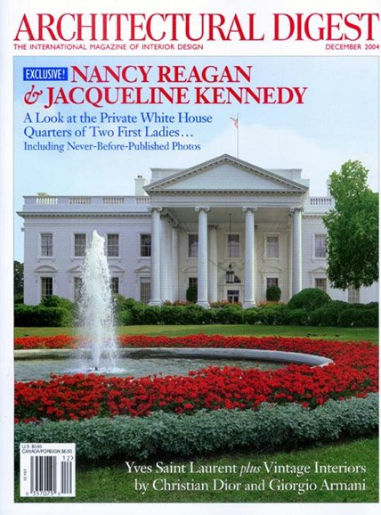 Architectural Digest Cover - 11/8/2004