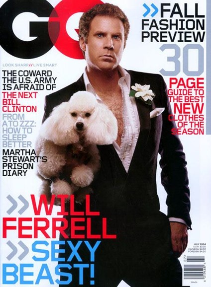 Gentlemen's Quarterly - GQ Cover - 6/21/2004