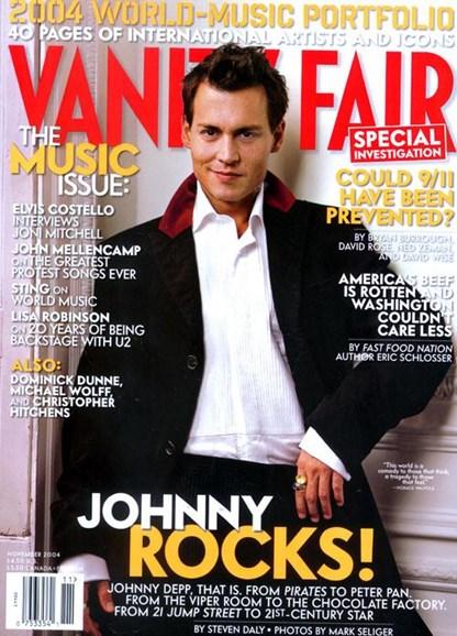 Vanity Fair Cover - 10/18/2004
