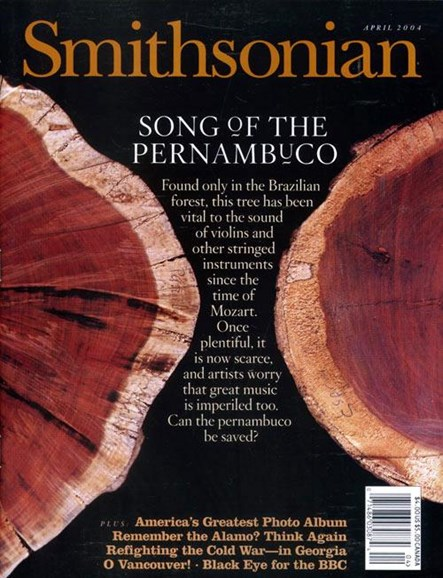 Smithsonian Cover - 4/2/2004