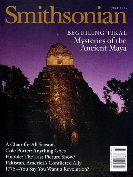 Smithsonian Cover - 7/7/2004