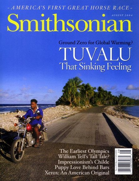 Smithsonian Cover - 8/3/2004