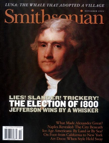 Smithsonian Cover - 11/8/2004