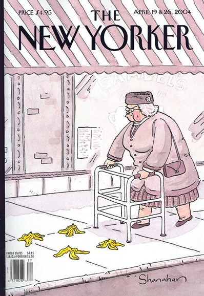 The New Yorker Cover - 4/14/2004