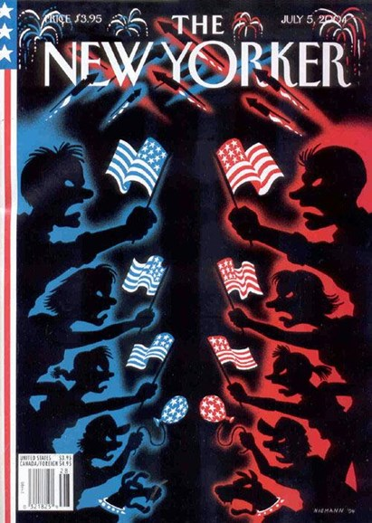 The New Yorker Cover - 7/7/2004