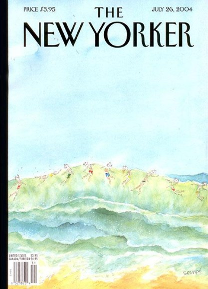 The New Yorker Cover - 7/23/2004