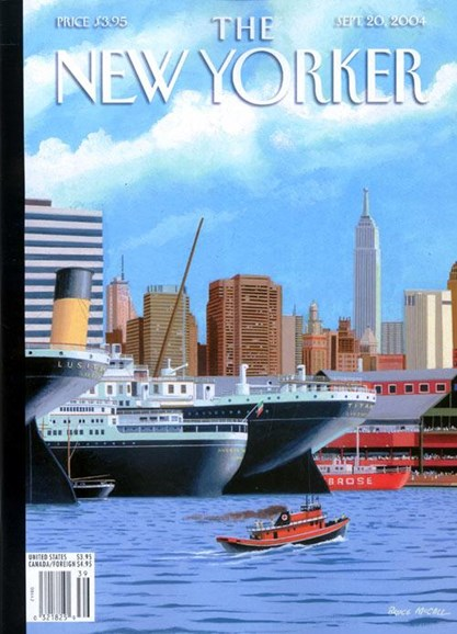 The New Yorker Cover - 9/23/2004