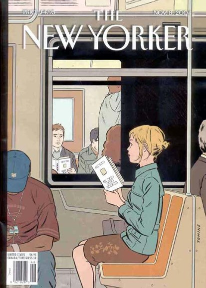 The New Yorker Cover - 11/8/2004