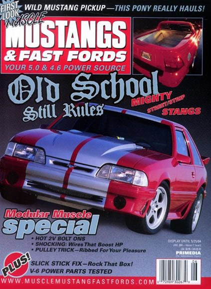 Muscle Mustangs & Fast Fords Cover - 4/23/2004