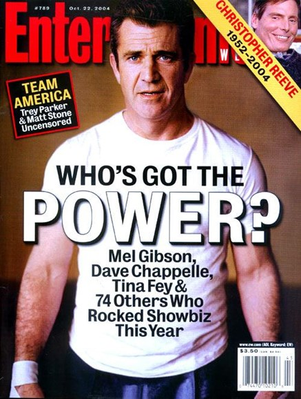 Entertainment Weekly Cover - 10/18/2004