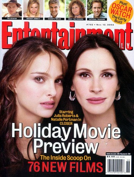 Entertainment Weekly Cover - 11/8/2004