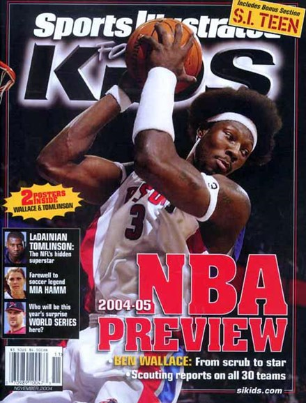 Sports Illustrated Kids Cover - 11/1/2004