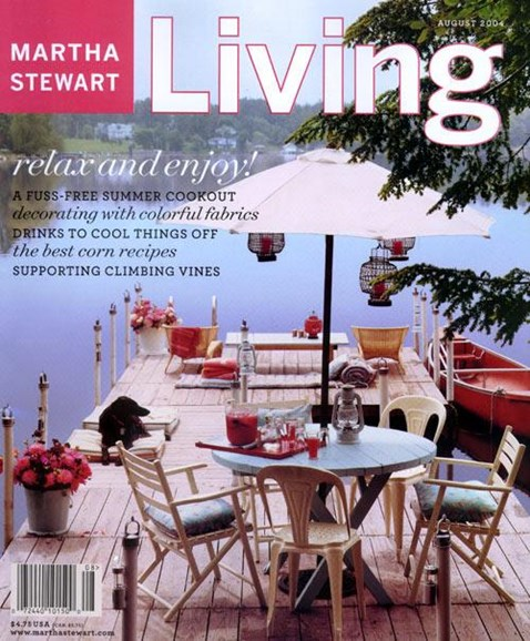 Martha Stewart Living Cover - 7/23/2004