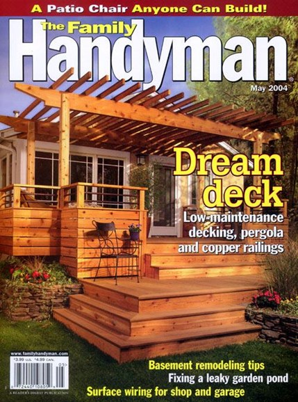 The Family Handyman Cover - 4/28/2004