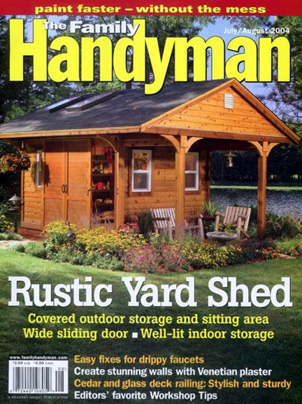 The Family Handyman Cover - 7/1/2004
