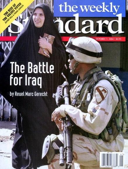 Washington Examiner Cover - 10/13/2004
