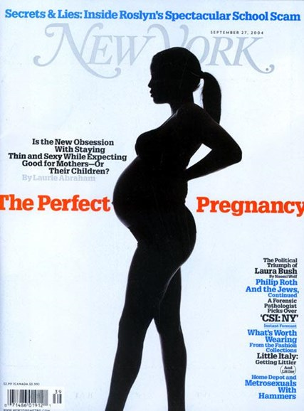 New York Magazine Cover - 9/28/2004