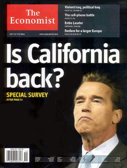 The Economist Cover - 5/6/2004