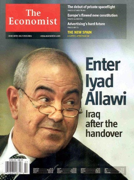The Economist Cover - 7/7/2004