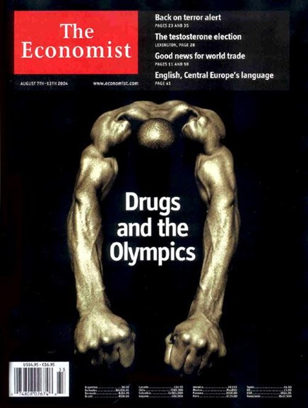 The Economist Cover - 8/7/2004