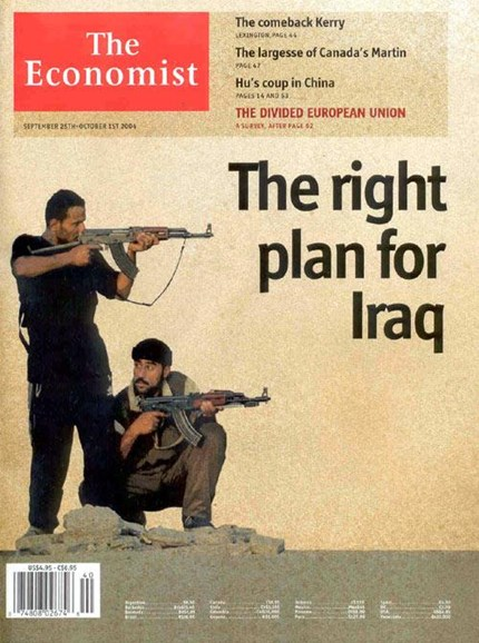 The Economist Cover - 9/28/2004