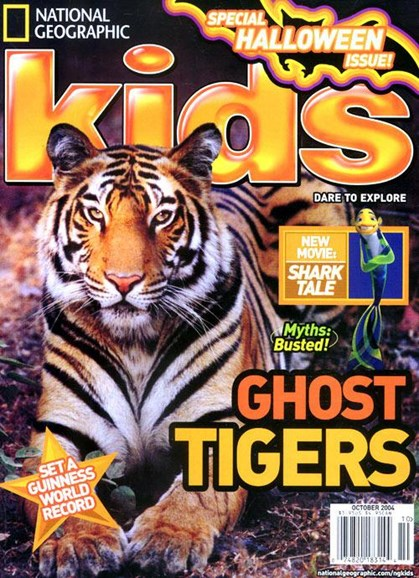 National Geographic Kids Cover - 10/13/2004