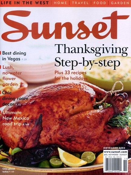 Sunset Cover - 10/18/2004