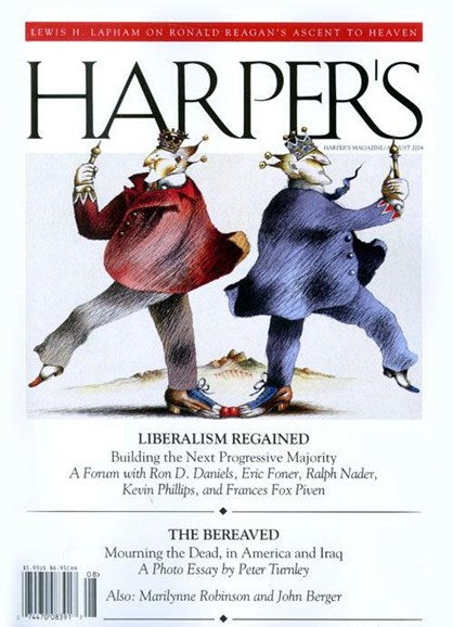 Harper's Cover - 7/27/2004