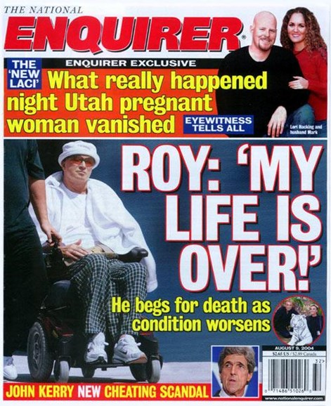 National Enquirer Cover - 8/3/2004