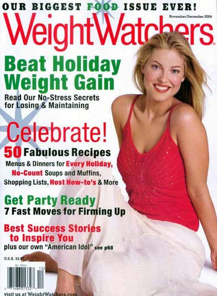 Weight Watchers Magazine Cover - 10/26/2004