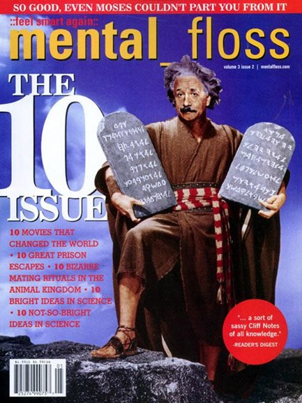Mental Floss Cover - 4/2/2004