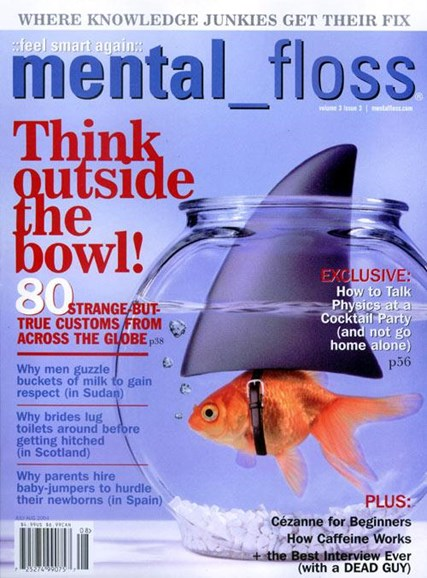 Mental Floss Cover - 6/14/2004