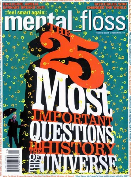 Mental Floss Cover - 10/26/2004