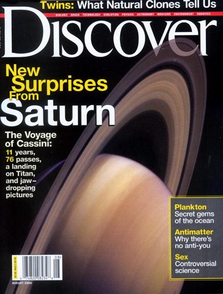 Discover Cover - 7/23/2004
