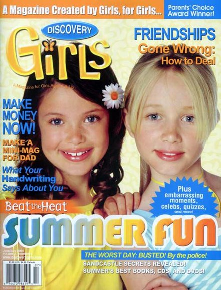 Discovery Girls Cover - 5/20/2004