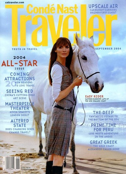 Condé Nast Traveler Cover - 8/25/2004