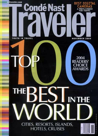 Condé Nast Traveler Cover - 10/26/2004