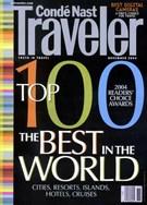 Conde Nast Traveler 10/26/2004