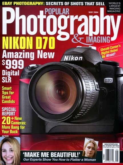 Popular Photography Cover - 4/14/2004
