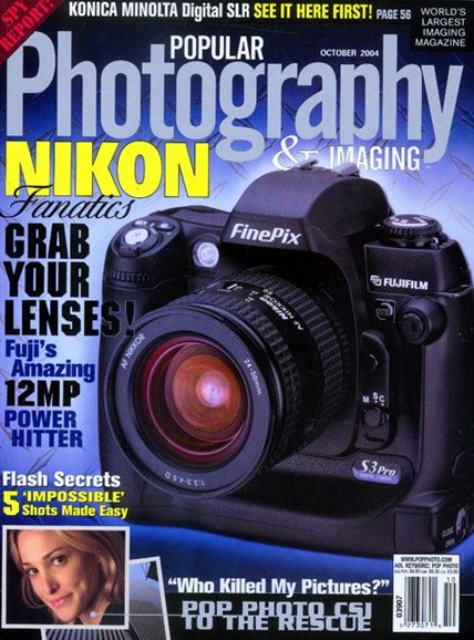 Popular Photography Cover - 9/28/2004