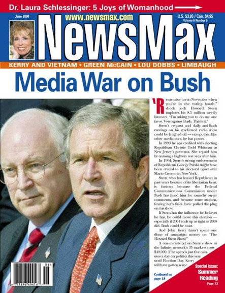 Newsmax Magazine Cover - 6/16/2004