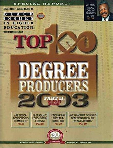 Diverse: Issues In Higher Education Cover - 6/1/2003