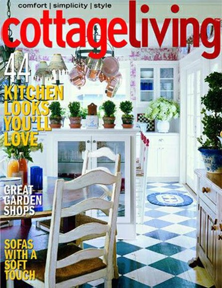 Cottage Living Cover - 7/7/2004