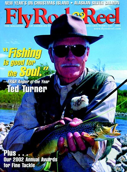 Fly Rod & Reel Magazine Cover - 2/1/2002