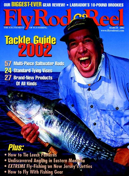 Fly Rod & Reel Magazine Cover - 3/1/2002