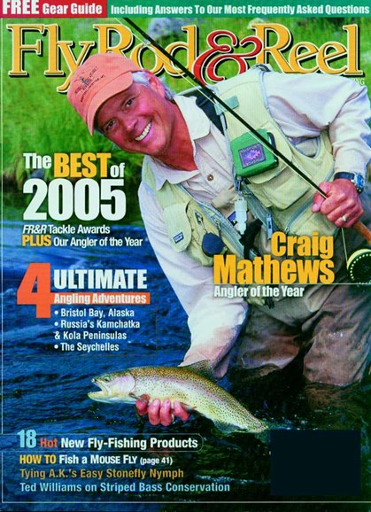 Fly Rod & Reel Magazine Cover - 2/1/2005