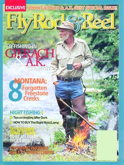 Fly Rod & Reel Magazine Cover - 4/1/2005