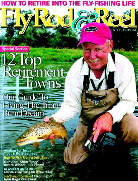 Fly Rod & Reel Magazine Cover - 12/1/2005